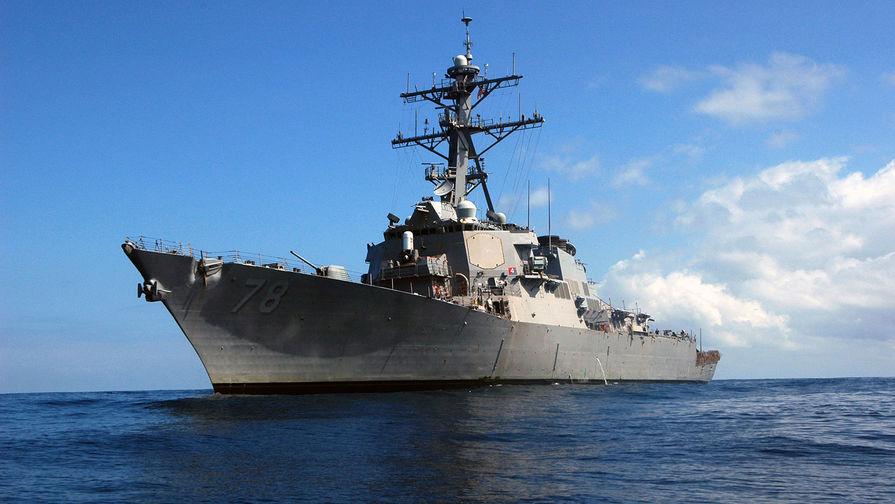 Российские военные сообщили об американском эсминце в Черном море