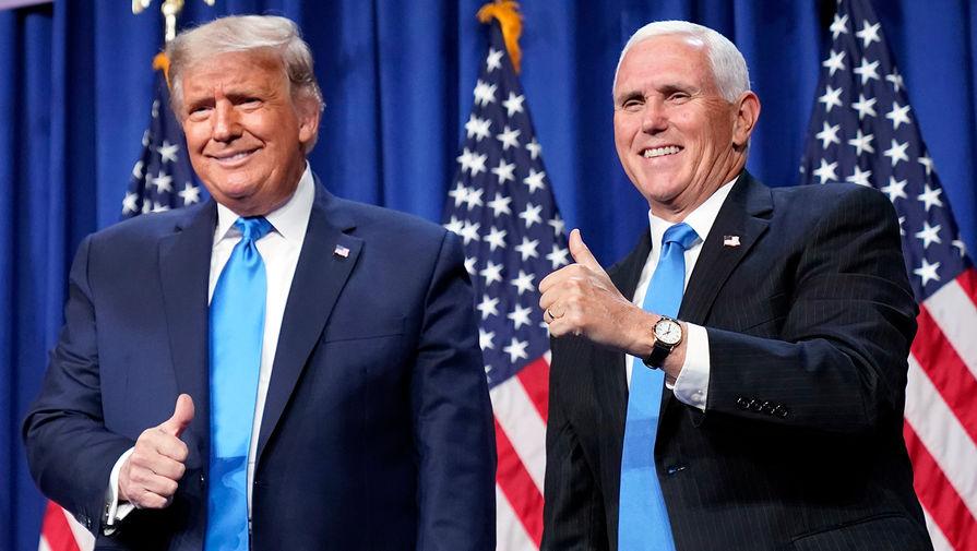 Трамп снова утверждает, что Пенс может изменить итог выборов