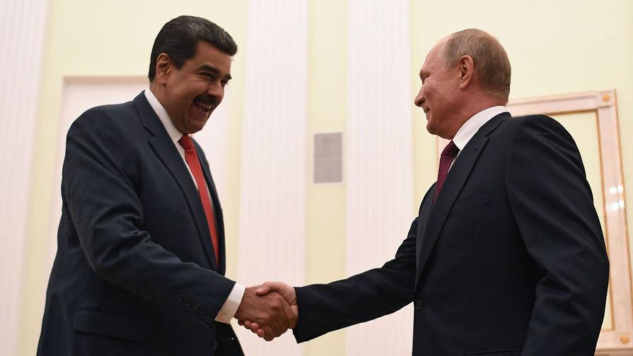 Путин и Мадуро обсудили коронавирус
