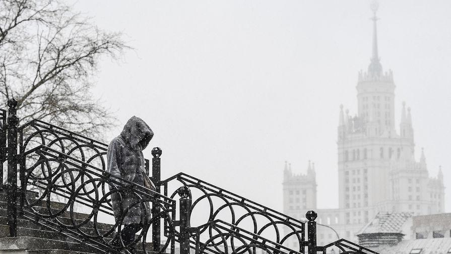 В Москве в пятницу ожидается до -3°С