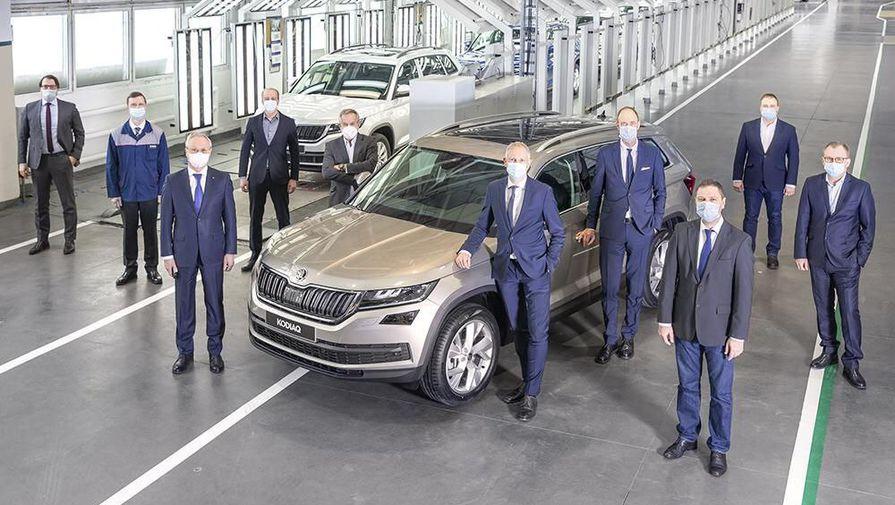 На ГАЗе выпущен 400-тысячный автомобиль в рамках сотрудничества c Volkswagen