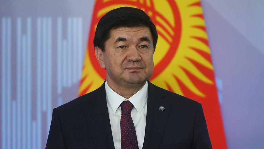 Задержан экс-премьер Киргизии Абылгазиев