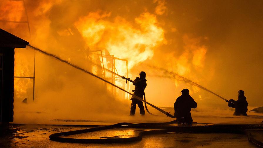Названа возможная причина пожара в доме престарелых под Тюменью