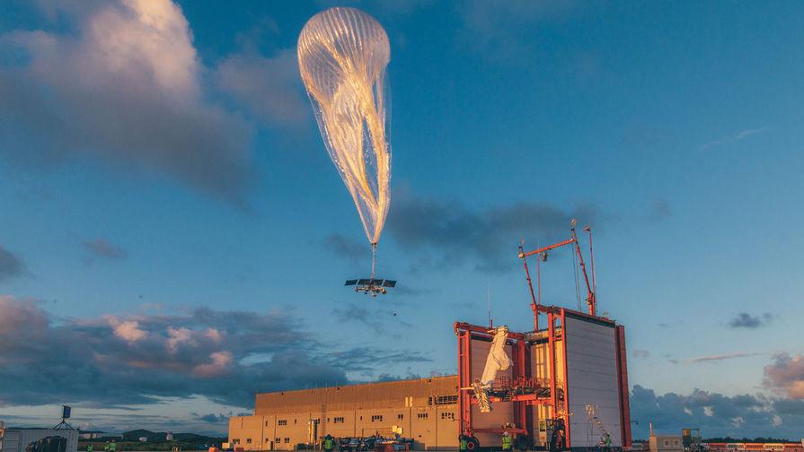 В США закрыли проект по обеспечению доступа в интернет за счет воздушных шаров