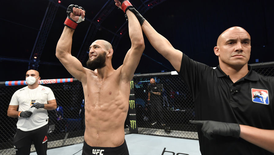 Стала известна причина отмены поединка бойца UFC Чимаева