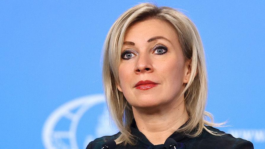 Захарова призвала Запад расследовать инцидент с Ryanair в Берлине