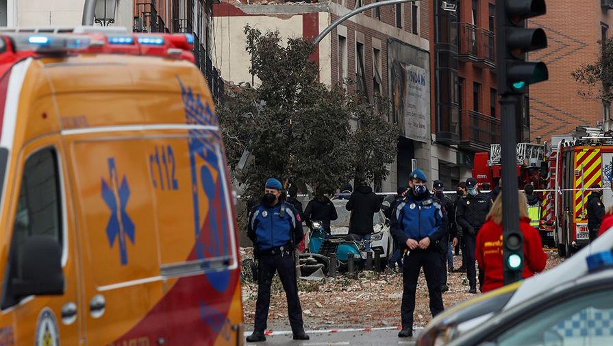 Папа Римский выразил соболезнования после взрыва в доме в Мадриде