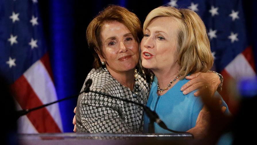 Клинтон и Пелоси обсудили 'русский след' в беспорядках у Капитолия