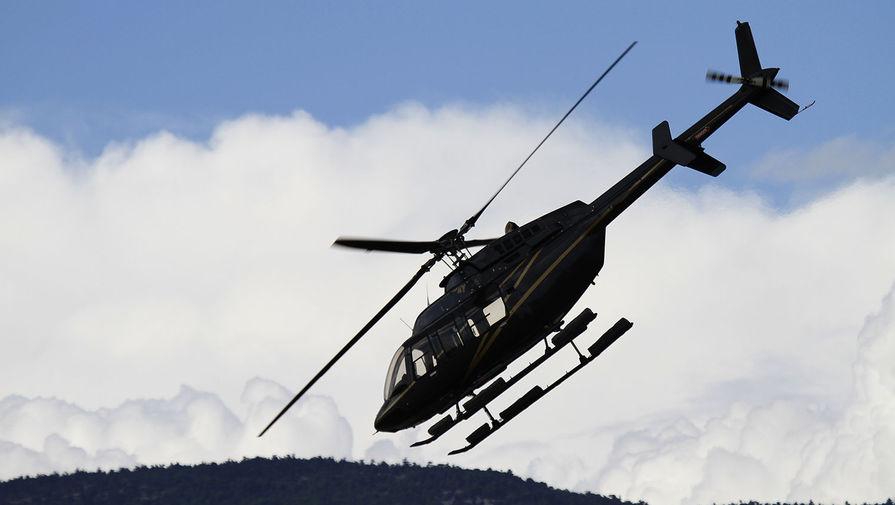 Во Франции потерпел крушение вертолет с шестью людьми на борту