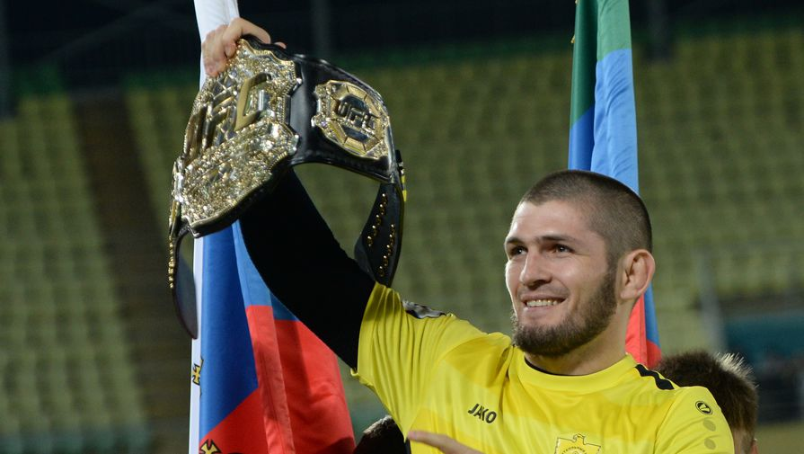 Хабиб составил футбольную команду из бойцов UFC