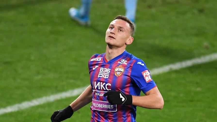 Тренер ЦСКА поделился мнением о причинах спада Чалова