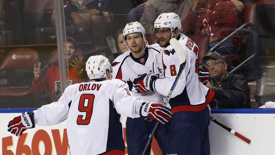 Овечкин и трое других российских игроков 'Вашингтона' нарушили протокол COVID-19