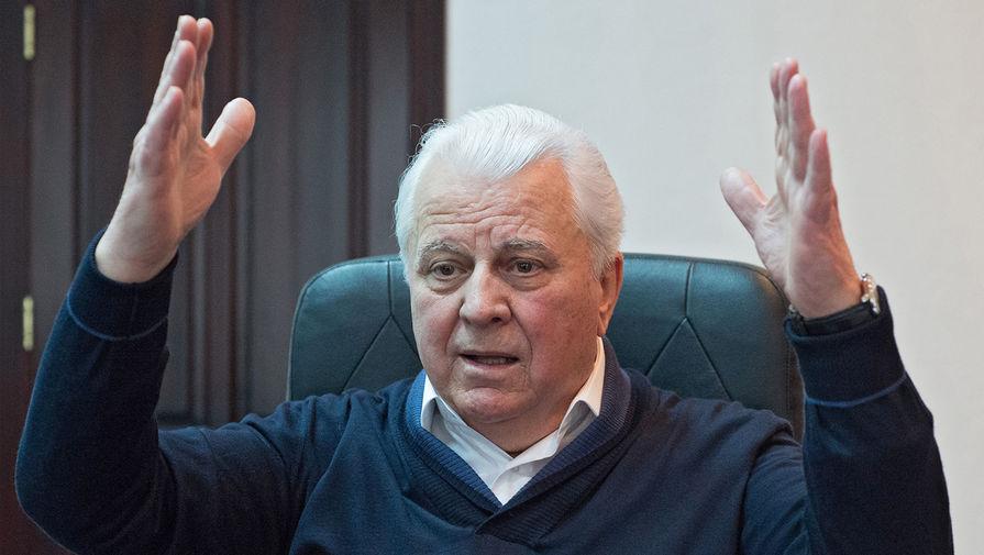 Кравчук заявил о необходимости отвечать 'выстрелом на каждый выстрел' в Донбассе