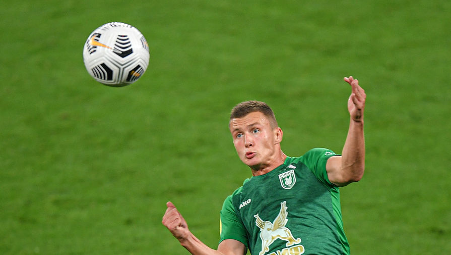 Нападающий 'Рубина' обратился к болельщикам после удаления в матче с 'Локомотивом'