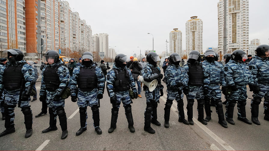 В центре Москвы усилили меры безопасности из-за незаконной акции