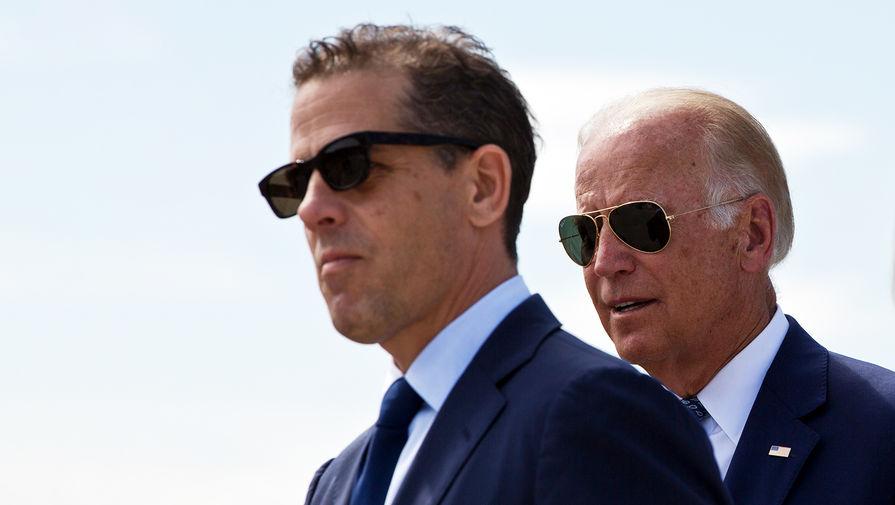 Байден уверен, что его сын не допускал налоговых нарушений