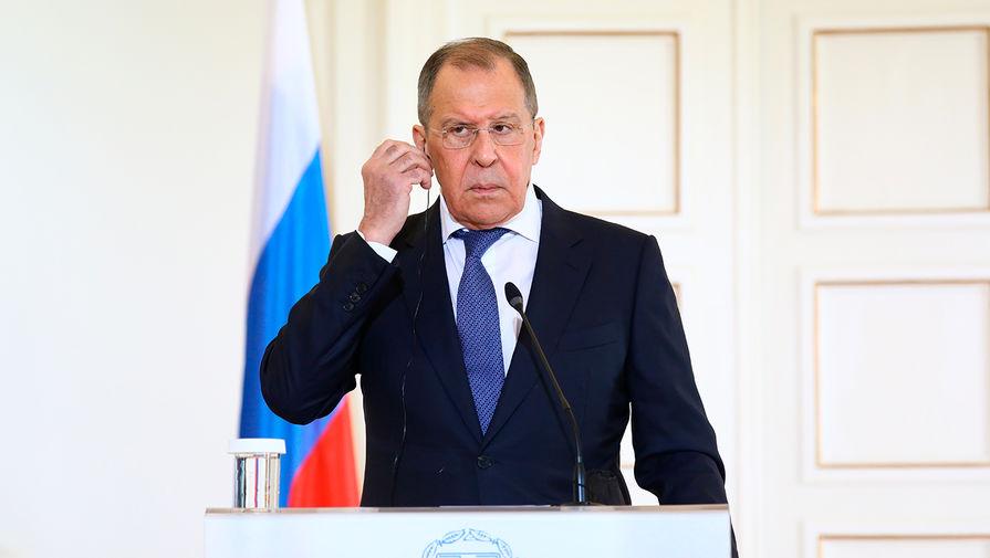 Лавров: Россия пока не начала процесс выхода из Договора по открытому небу