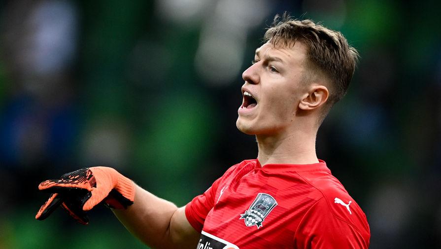 Сафонов занял второе место в рейтинге самых дорогих молодых вратарей мира