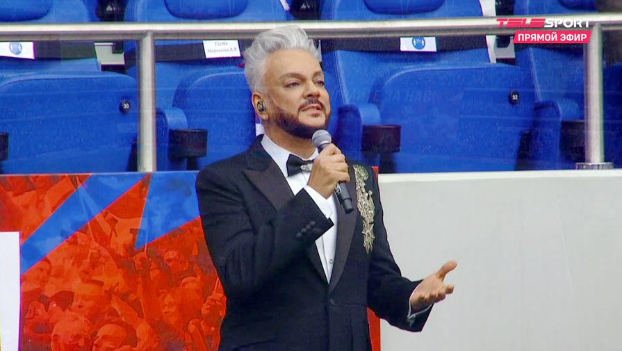 Тренер сборной Болгарии подарил Киркорову футболку, чтобы тот не забывал свои корни