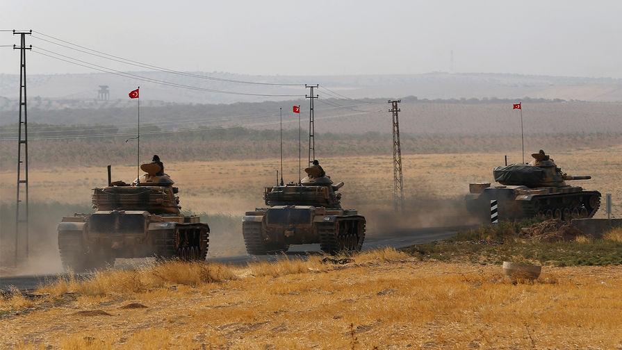 Российские военные в Сирии оценили переброску турецкой техники в провинцию Ракка