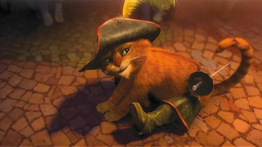 Сиквел 'Кота в сапогах' получил дату премьеры