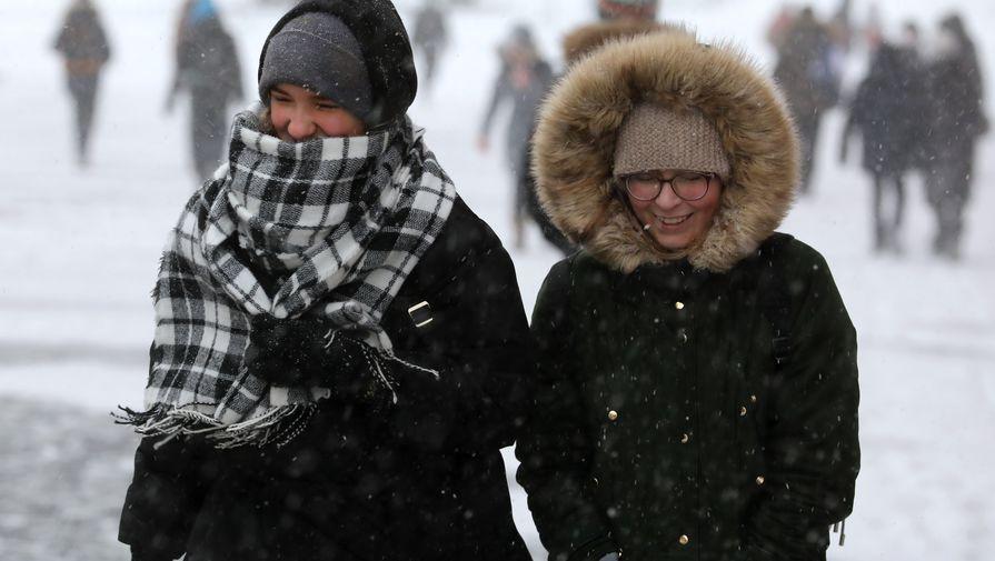В Москве во вторник ожидается до -14°С и гололедица