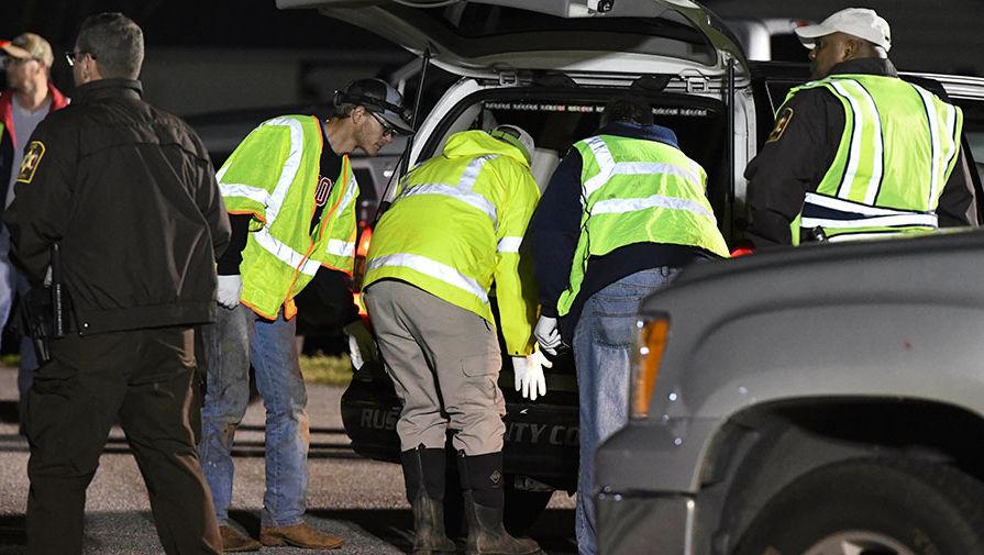 Двое военных погибли при крушении сверхзвукового самолета в США
