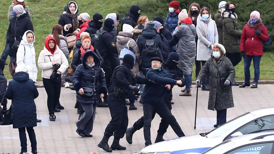 В Минске задержали более 300 участников воскресных протестов