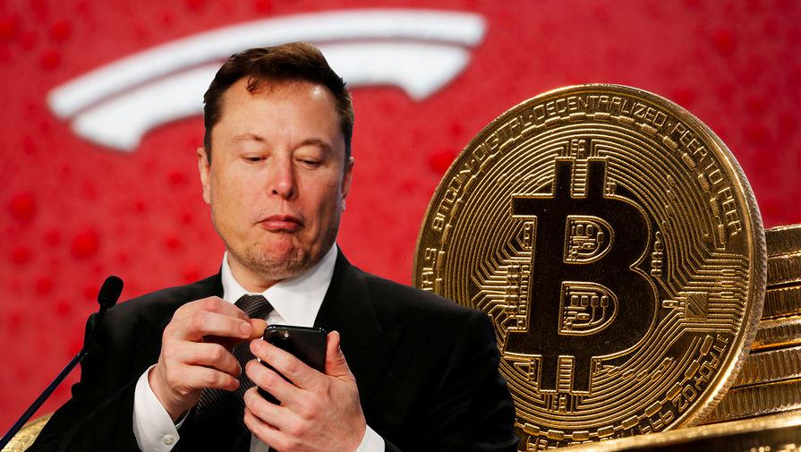 Маск заявил, что теперь электромобили Tesla можно будет купить за биткоины