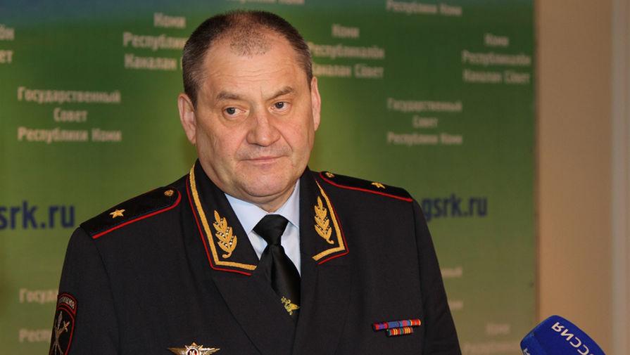 СК завершил расследование дела экс-главы МВД Коми, обвиняемого во взяточничестве