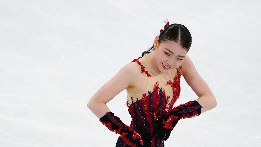 Японка Кихира осталась без медали на чемпионате мира по фигурному катанию