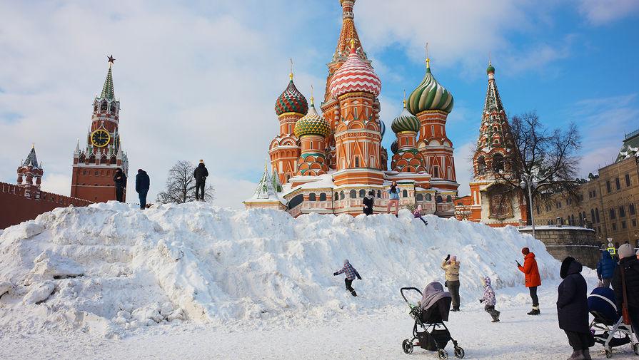 Прошедший февраль стал самым снежным за последние семь лет в Москве