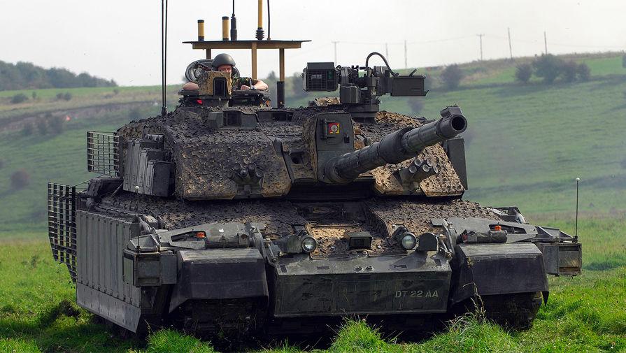 Секретные характеристики британского танка выложили на геймерском форуме