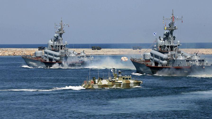 РФ тестирует на Черном море новую систему слежения за кораблями