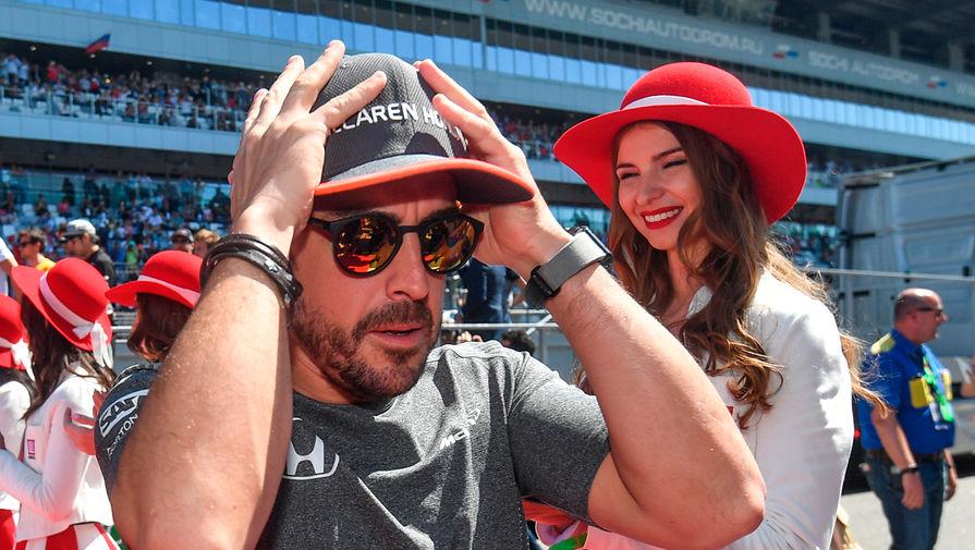 Двукратного чемпиона 'Формулы-1' Алонсо сбила машина