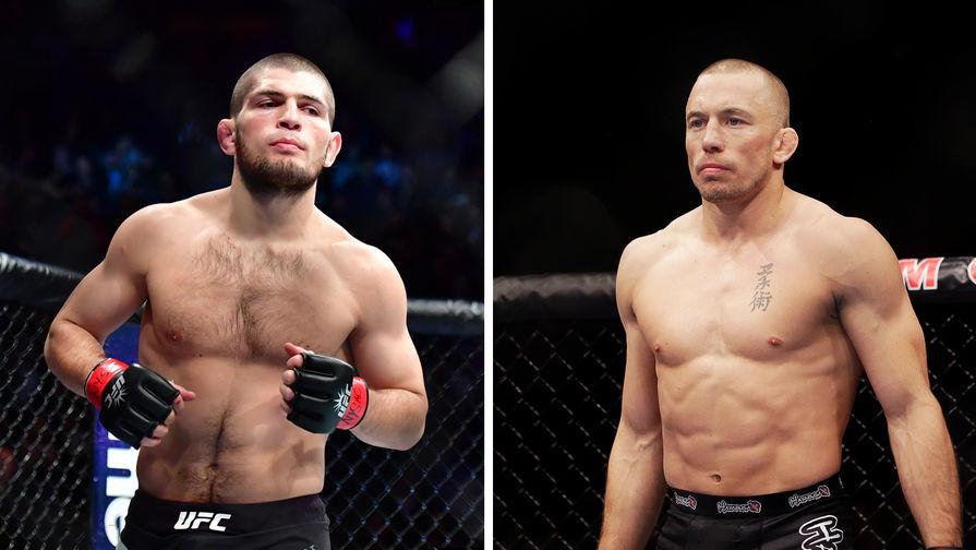 Хабиб опроверг слова главы UFC о своем нежелании драться с Сен-Пьером