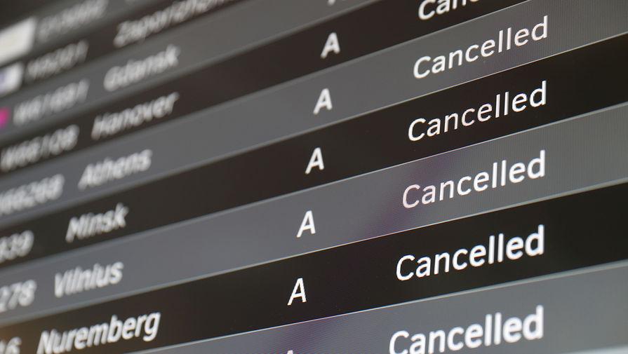 Свыше 50 рейсов задержано и отменено в Москве
