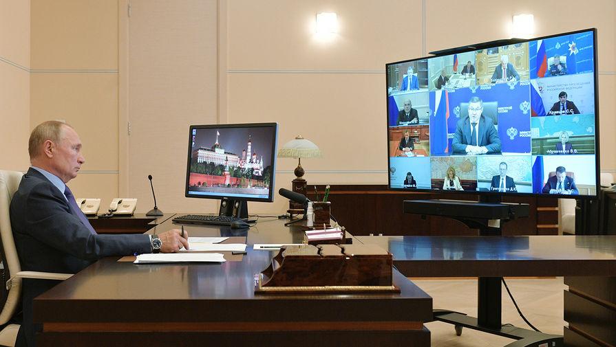 Путин оценил работу правительства в 2020 году