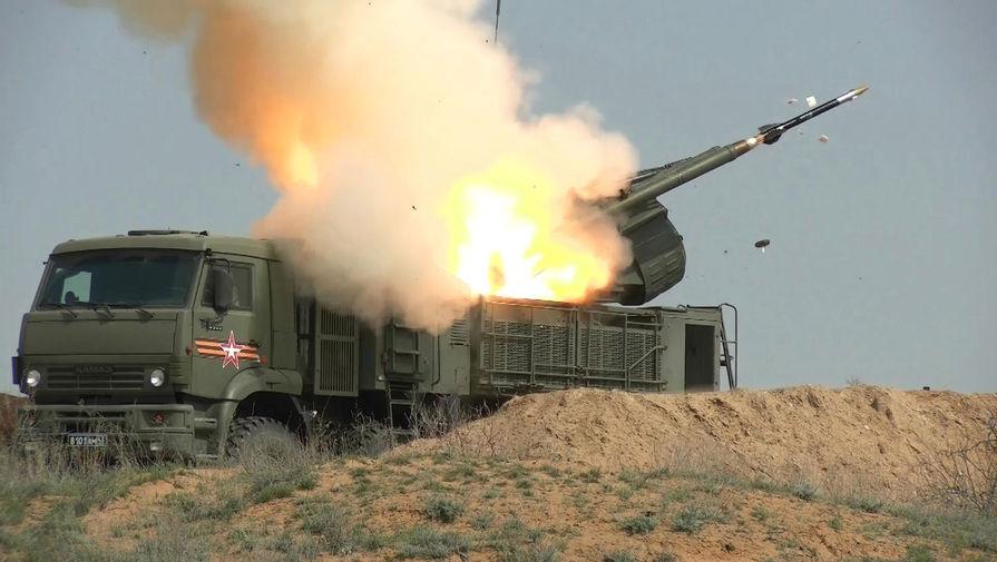 Турецкие БПЛА совершили атаку на российский 'Панцирь-С1'