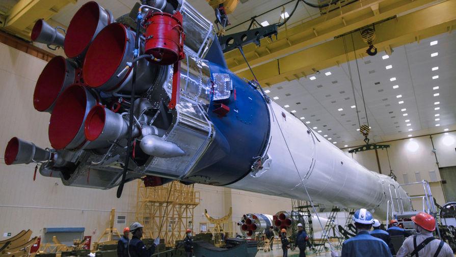 Ракета 'Союз' с новым дизайном стартовала с Байконура с 38 спутниками