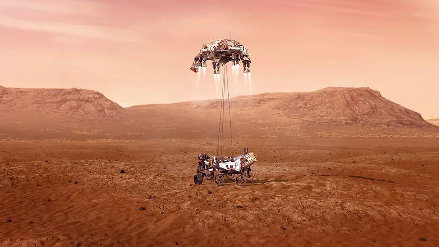 SpaceX поздравила NASA с посадкой марсохода Perseverance