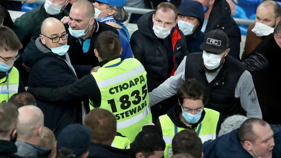 Трех фанатов 'Спартака' задержали перед матчем с 'Зенитом'