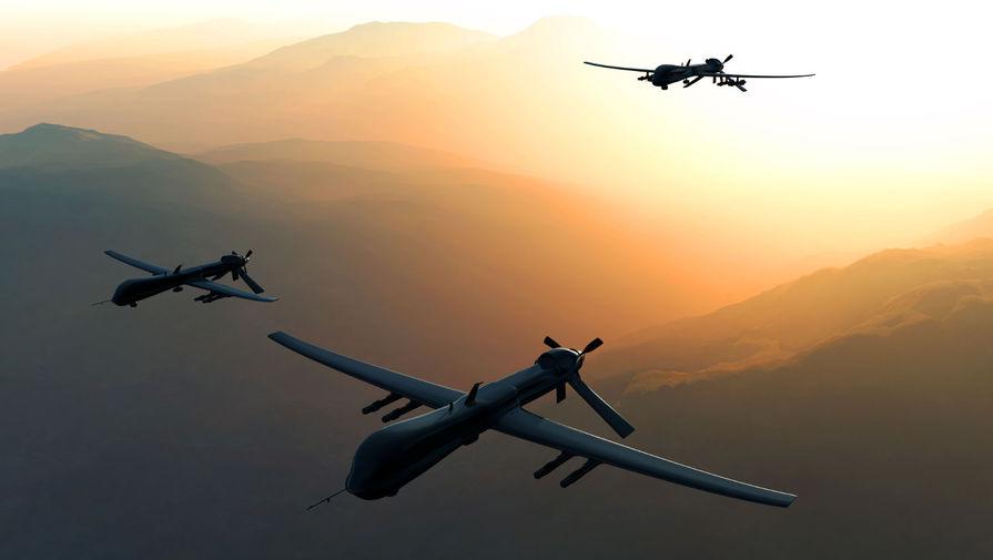 Для ВКС разрабатывают летающие роем беспилотники