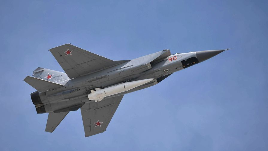 Опубликовано видео переброски в Сирию российских истребителей МиГ-31К