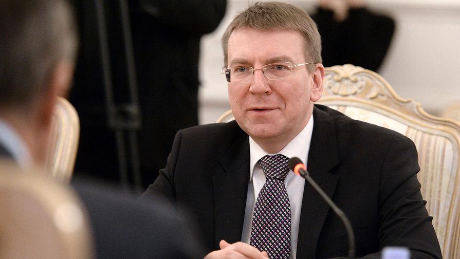Глава МИД Латвии Ринкевич выступил против проведения ЧМ-2021 в Белоруссии