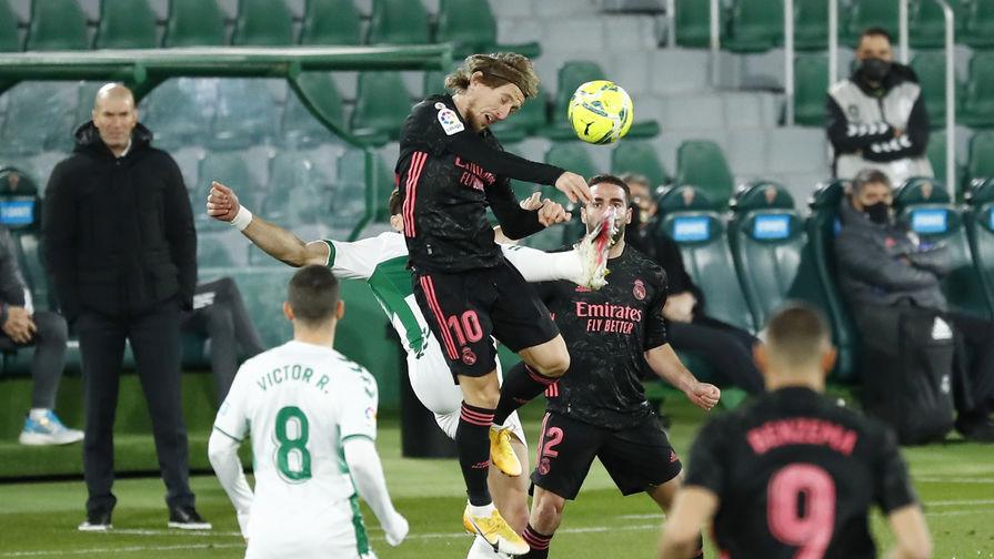 'Реал' сыграл вничью с 'Эльче' в матче Ла Лиги