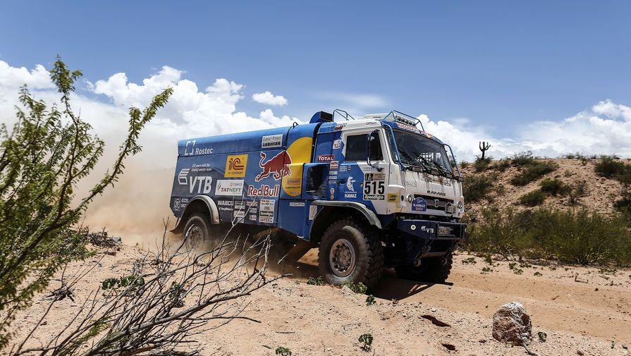 Экипаж Каргинова из-за штрафа лишился победы на пятом этапе 'Дакар'-2021