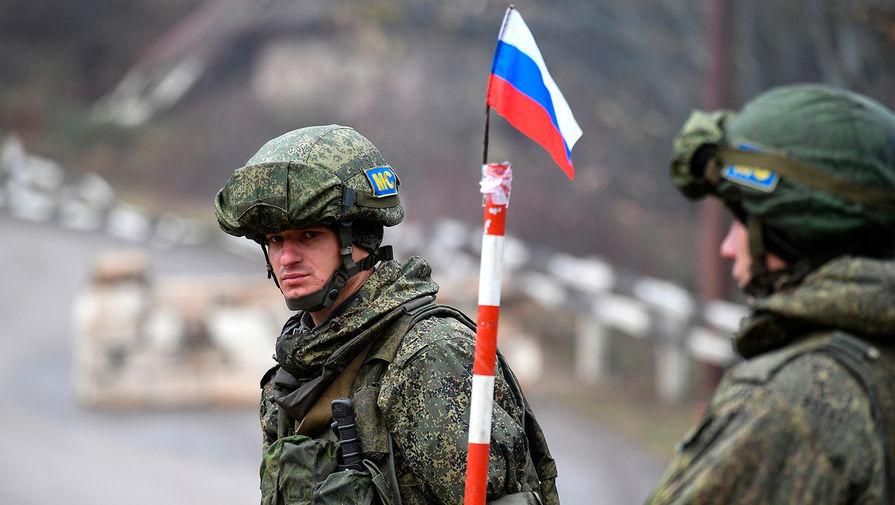 Российские миротворцы в Карабахе дополнительно получат по два оклада