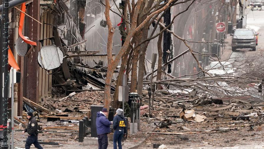 Мэр Нэшвилла назвал произошедший взрыв умышленным