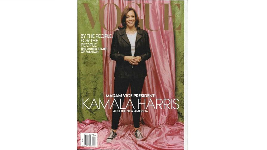 Анна Винтур отреагировала на критику обложки Vogue с Камалой Харрис